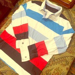 Charles Tyrwhitt Men's M Polo Shirt Long Sleeve